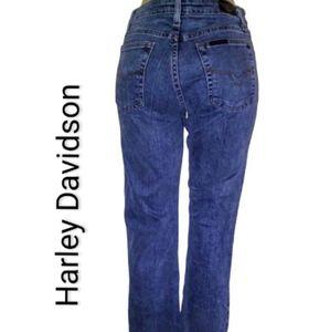Harley Davidson straight leg stretch jeans As 8R